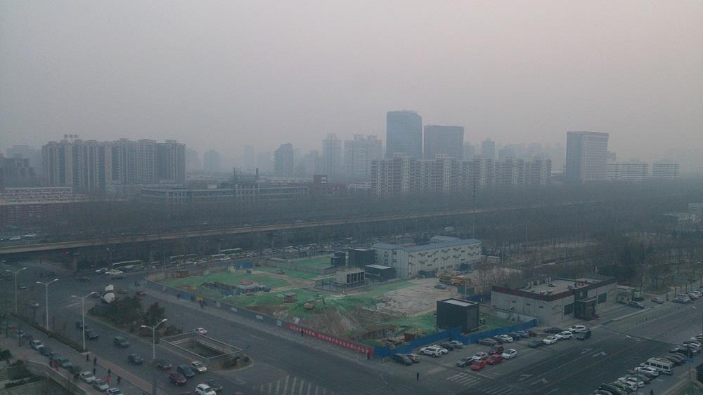En vecka i Beijing – Luften