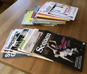 Rensa tidningar