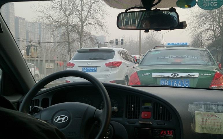 En vecka i Beijing – Kommunikationer